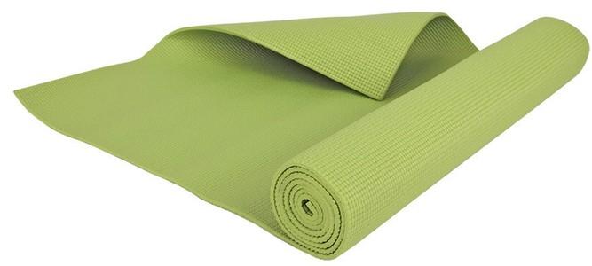 Podložka na jógu zelená 4mm