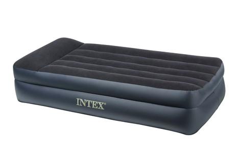 Intex INTEX Pillow Rest nafukovací postel s integrovanou vzduchovou pumpou 99 x 191 x 43 cm, 64122