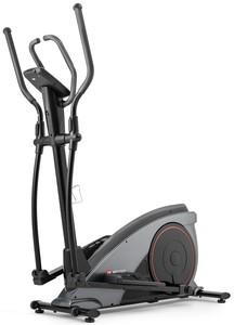 Hop-Sport Elektromagnetický eliptický trenažér HS-060C Blaze s iConsole + training šedý