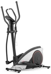 Hop-Sport Elektromagnetický eliptický trenažér HS-060C Blaze s iConsole+ stříbrný