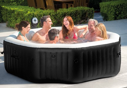 PURESPA JET & BUBBLE DELUXE INTEX 28456 PRO 6 OSOBY