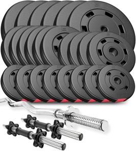Hop-Sport Nakládací činkový set Premium 118kg