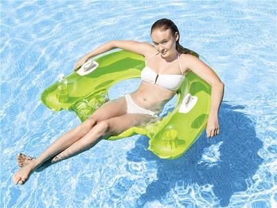 Intex Intex Křeslo do vody zelené 152x99cm 58859