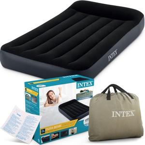 Intex Nafukovací matrace INTEX s vestavěným čerpadlem (99x191x25) 64146