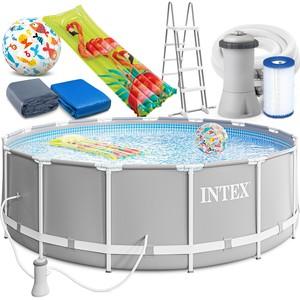Bazén s konstrukcí Intex 26726 Prism Frame 457x122 cm