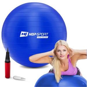 Gymnastický míč fitness 55cm - modrý