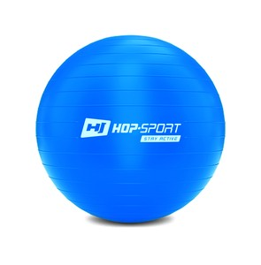 Gymnastický míč fitness 45cm s pumpou - modrý