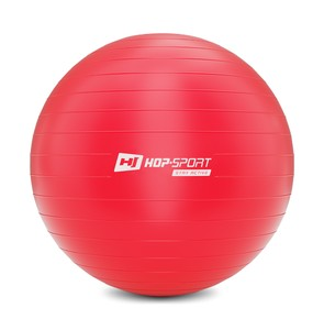 Gymnastický míč fitness 65cm - červený