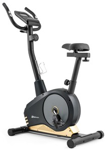 Hop-Sport Magnetický rotoped HS-2080 Spark černo-žlutý