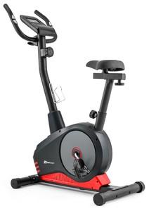 Hop-Sport Magnetický rotoped HS-2080 Spark červeno-šedý