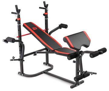 Hop-Sport Posilovací lavice HS-1065HB s bicepsovou opěrou