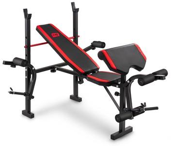 Posilovací lavice HS-1055 s bicepsovou opěrkou