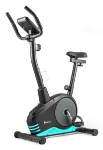 Hop-Sport Magnetický rotoped HS-2080 Spark černo-tyrkysový