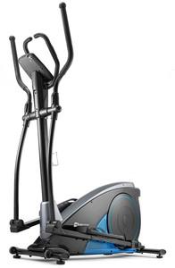 Hop-Sport Elektromagnetický eliptický trenažér HS-060C Blaze modrý + podložka