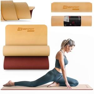 Levně Podložka Fitness TPE 0,6cm oranžovo/červená