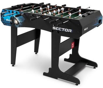 Levně Stolní fotbal Sector Černo-modrý