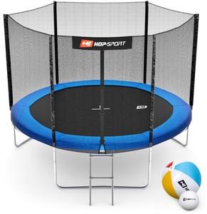 Hop-Sport Trampolína Hop-Sport 10ft (305cm) s vnější ochrannou sítí - 3 podpůrné tyče