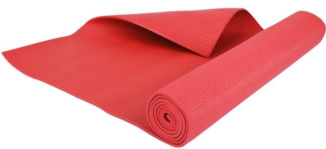 Podložka na jógu červená 4mm