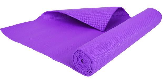 Podložka na jógu fialová 5mm