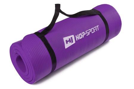 Hop-Sport Podložka na jógu HS-4264 fialová 1,5 cm