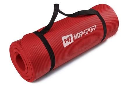 Hop-Sport Podložka na jógu HS-4264 červená 1,5 cm