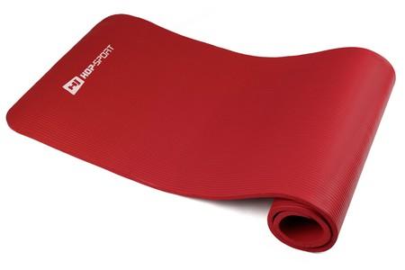 Hop-Sport Podložka na jógu HS 4264 červená 1 cm