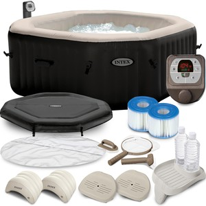 Intex PURESPA JET & BUBBLE DELUXE INTEX 28454 pro 4 OSOBY