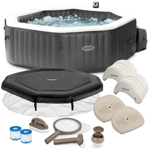 Intex PureSpa Jet & Bubble Deluxe Intex 28458 pro 4 osoby