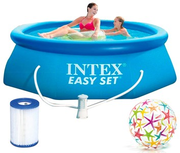 Intex Bazén 28112 Intex Easy Set 244 x 76 cm