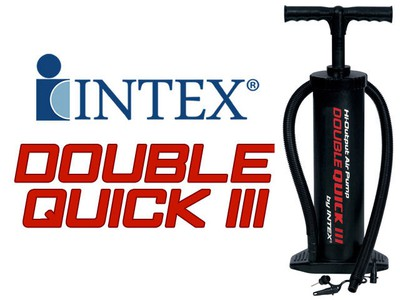 Intex 68615 Ruční pumpa 48 cm Double Quick III