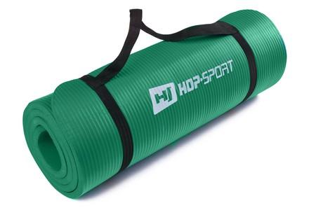 Hop-Sport Podložka na jógu HS-4264 1,5CM zelená
