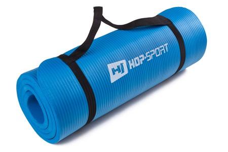 Hop-Sport Podložka na jógu HS-4264 modrá 1,5 cm