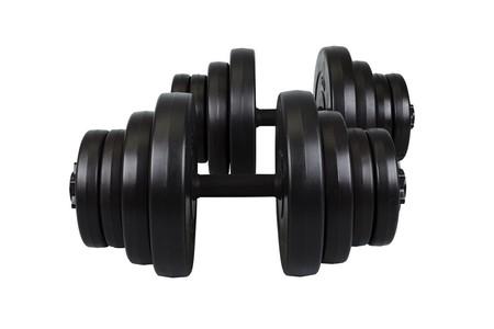 Hop-Sport Činky nakládací jednoruční set 2x20,75kg
