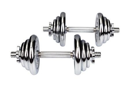 Hop-Sport Činky Chromované 2x10kg
