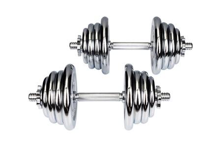 Hop-Sport Činky Chromované 2x20kg