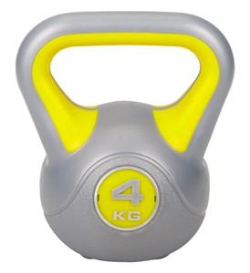 Hop-Sport Činka jednoruční Kettlebell vinylová 4 kg