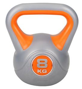 Hop-Sport Činka jednoruční Kettlebell vinylová 8 kg