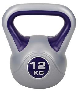 Hop-Sport Činka jednoruční Kettlebell vinylová 12 kg