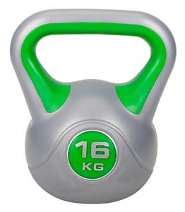 Hop-Sport Činka jednoruční Kettlebell vinylová 16 kg