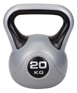 Hop-Sport Činka jednoruční Kettlebell vinylová 20 kg
