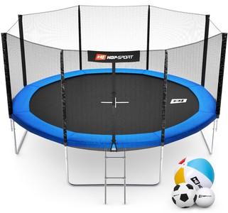 Hop-Sport Trampolína Hop-Sport 14ft (427cm) s vnější ochrannou sítí + žebřík