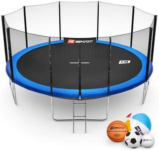 Hop-Sport Trampolína Hop-Sport 16ft (488cm) s venkovní ochrannou sítí + žebřík