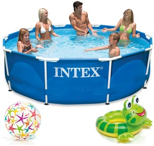 Intex Bazén 28200 Intex Metal Frame 305 x 76 cm