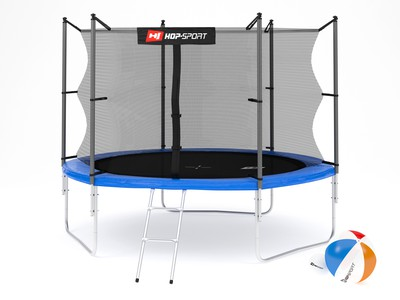 Hop-Sport Trampolína Hop-Sport 10ft (305cm) s vnitřní ochrannou sítí + žebřík