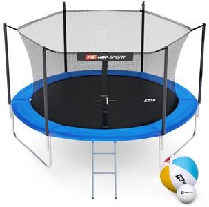 Hop-Sport Trampolína Hop-Sport 10ft (305cm) s vnitřní ochrannou sítí - 3 podpůrné tyče